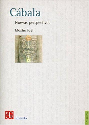 9789681680046: Cábala. Nuevas perspectivas (Filosofia) (Spanish Edition)