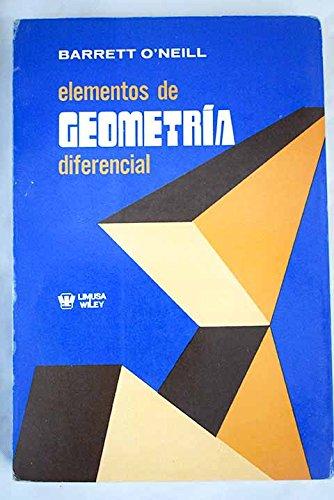 9789681806712: ELEMENTOS DE GEOMETRIA DIFERENCIAL.