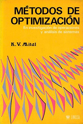 9789681816148: Metodos de optimizacion/ Methods of Optimization (Spanish Edition)