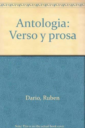 Antologia: Verso y prosa (Spanish Edition): Dario, Ruben