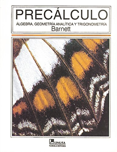 Precalculo/ Precalculus (Spanish Edition): Barnett, Raymond A.
