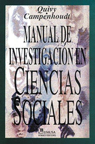 Resultado de imagen para Manual de Investigación en Ciencias Sociales. Rayrnond Quivy