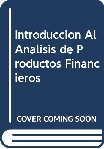 9789681854188: Introduccion Al Analisis de Productos Financieros (Spanish Edition)