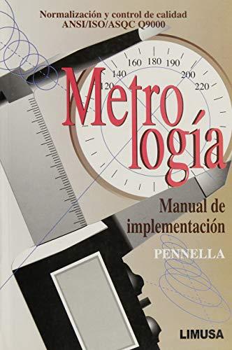 Metrologia/ Metrology (Spanish Edition): Robert Pennella
