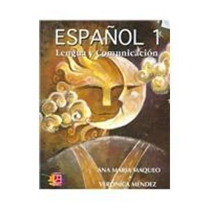 9789681857202: 1: Espanol/ Spanish: Lengua Y Comunicacion/ Language and Communication (Spanish Edition)