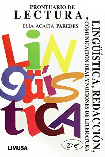 9789681858711: Prontuario de lectura, linguistica y redaccion/ Handbook of Reading, Linguistics and Writing (Spanish Edition)