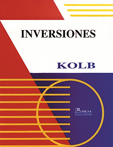 Inversiones (Spanish Edition) (9681861256) by Kolb, Robert