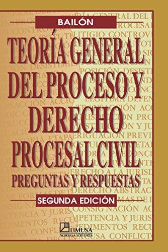 Teoria general del proceso y derecho procesal: Bailon, Rosalio
