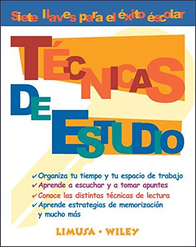 Tecnicas De Estudio/ Study Techniques (Spanish Edition): Wiley