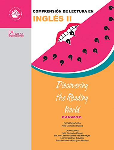 9789681866877: Comprension de lectura en Ingles II / Discovering the Reading World (Spanish Edition)