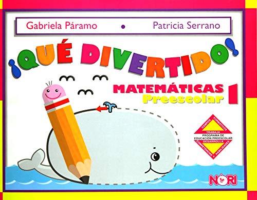 9789681866990: Que divertido! 1/ How Fun 1: Matematicas Preescolar (Spanish Edition)