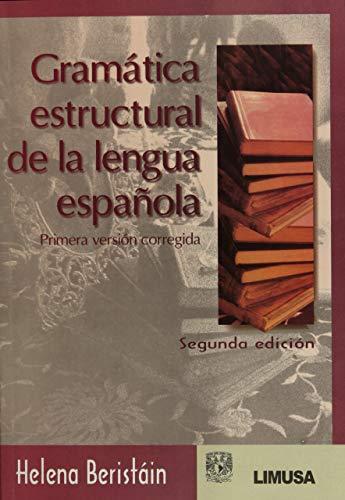 9789681867584: Gramatica estructural de la lengua espanola/ Structural Grammar of the Spanish Language