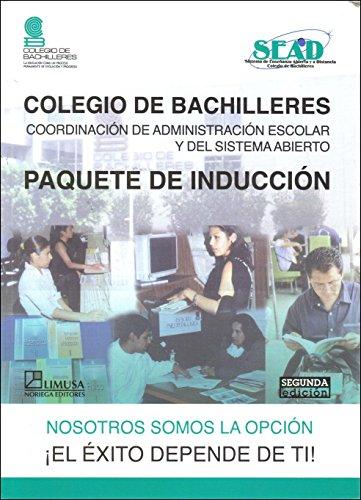 9789681870485: Paquete De Induccion/ Induction Package (Colegio De Bachilleres)