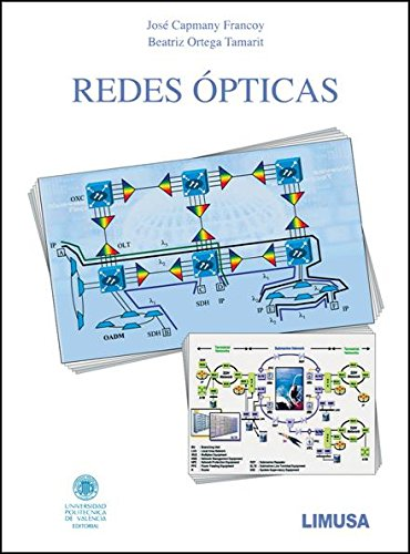 Redes opticas/ Optical Networks (Spanish Edition): Capmany, Jose