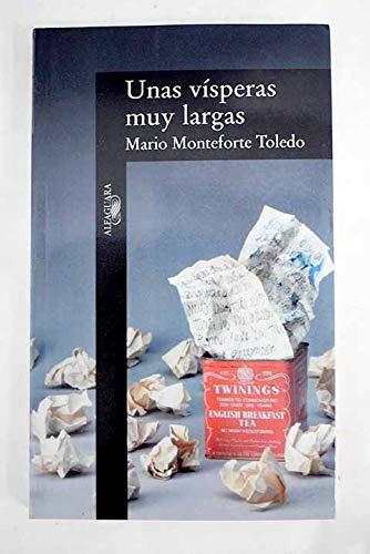 9789681903084: Unas vísperas muy largas (Spanish Edition)