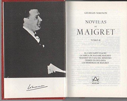 9789681903176: Novelas de Maigret Tomo 1