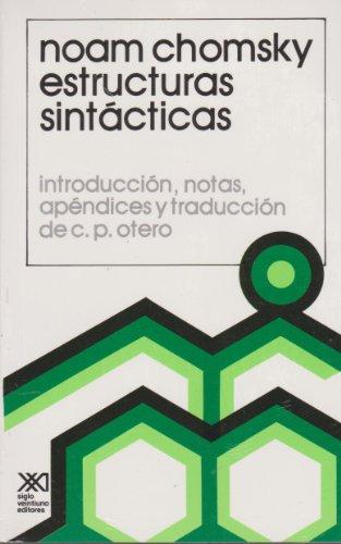 9789682300752: Estructuras sintacticas (Spanish Edition)