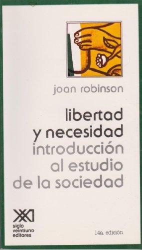 9789682302169: Libertad y necesidad (Spanish Edition)