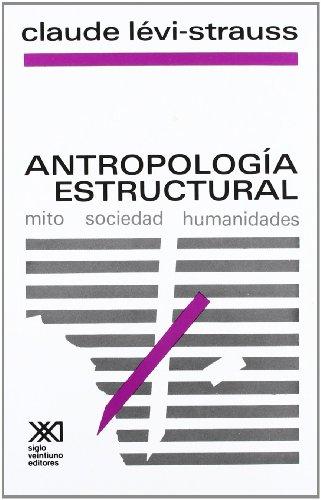 9789682305610: Antropología estructural