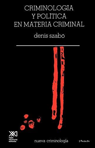 9789682305665: Criminologia Critica En Materia Criminal (Spanish Edition)
