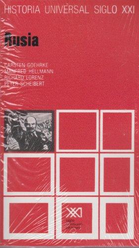 Historia universal / 31 / Rusia (Spanish Edition): Manfred Hellmann , Carsten Goehrke , ...