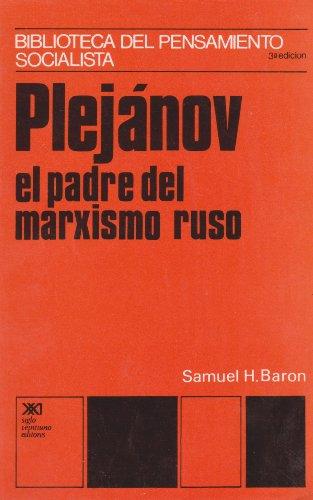 9789682306327: plejanov, el padre del marxismo ruso