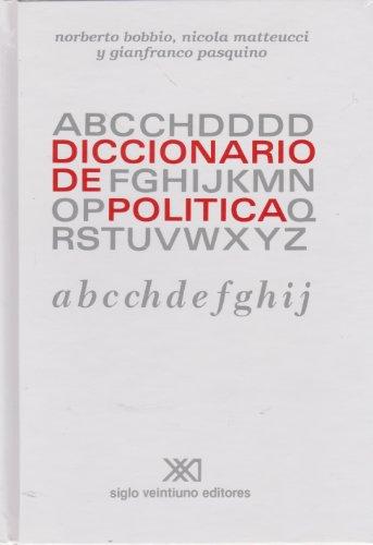Diccionario De Política 2 Volúmenes A-Z 1 Volúmen Suplemento: Norberto Bobbio ...