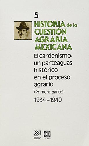 Historia de la cuestion agraria mexicana /: Lopez, Everardo Escarcega
