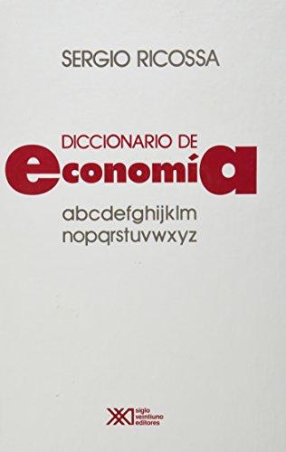 Diccionario de economía: Ricossa, Sergio