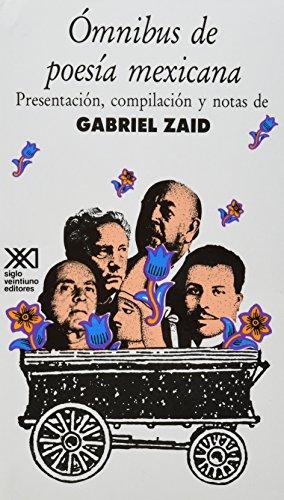 9789682317408: Omnibus de poesia mexicana. presentacion, compilacion y notas de Gabriel zaid