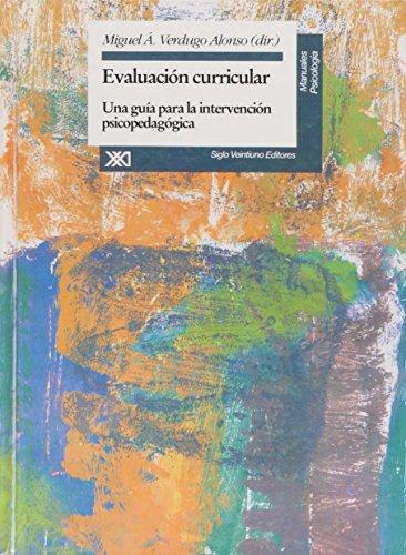 9789682320453: Evaluacion curricular. Una guia para la intervencion psicopedagogica (Spanish Edition)