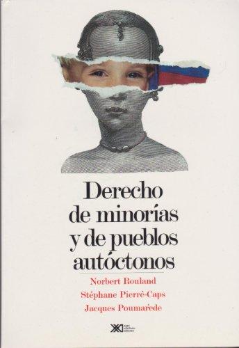 9789682322013: Derecho de minorias y de pueblos autoctonos (Spanish Edition)
