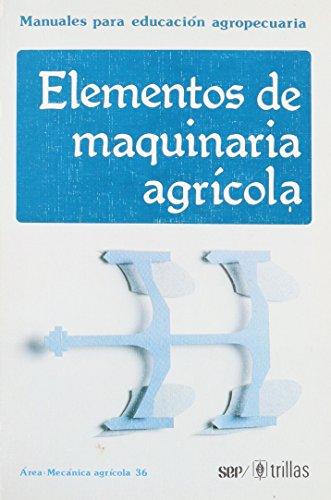 ELEMENTOS DE MAQUINARIA AGRICOLA: F.A.O.