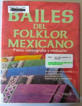 Bailes Del Folklor Mexicano = Mexican Folk Dances: Trillas