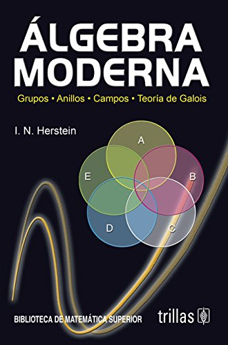 Algebra Moderna: Grupos, Anillos, Campos, Teoría de: HERSTEIN, I.N.