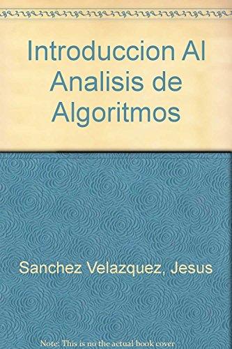 9789682443411: Introduccion Al Analisis de Algoritmos
