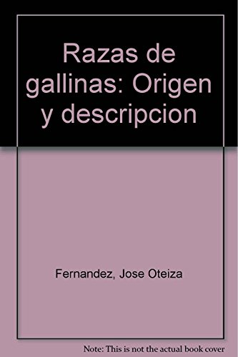 9789682444104: Razas de gallinas: Origen y descripcion