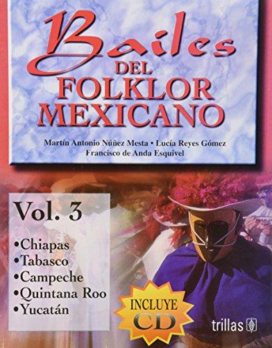 Bailes Del Folklor Mexicano/ Mexican Folklore Dance (Spanish Edition): Nunez, Martin Antonio