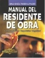 9789682467288: Manual de residente de obra / Building Manager's Guide (Spanish Edition)
