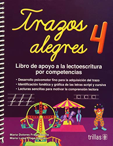 Trazos alegres / Happy trace: Libro de: Maria Dolores Fraga