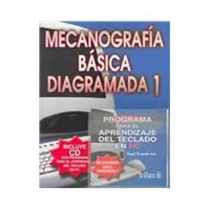 9789682469121: Mecanografia Basica Diagramada 1 (Spanish Edition)