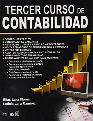 Tercer Curso De Contabilidad (Spanish Edition): Flores, Elias Lara