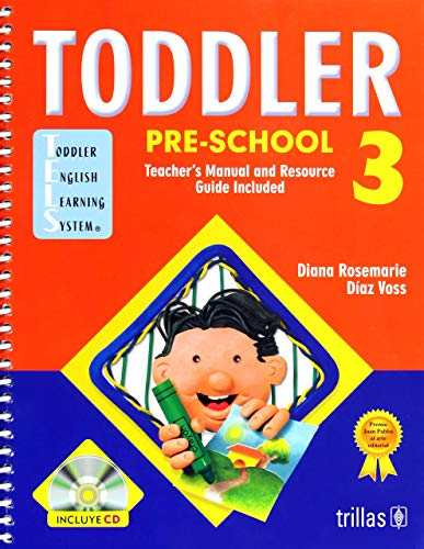 9789682472862: Toddler pre-school: Teacher's Manual and Resource Guide Included (Spanish Edition)