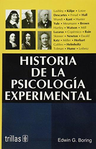 9789682477836: Historia de la psicologia experimental / History of Experimental Psychology