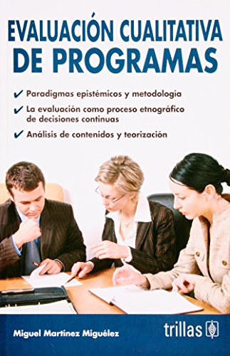 9789682479311: Evaluacion cualitativa de programas/ Qualitative Assessment Program