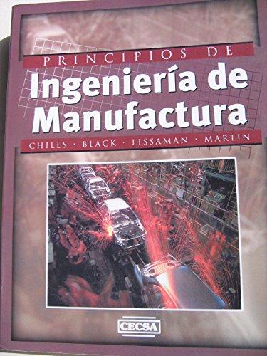Principios de Ingenieria de Manufactura (Spanish Edition): Black