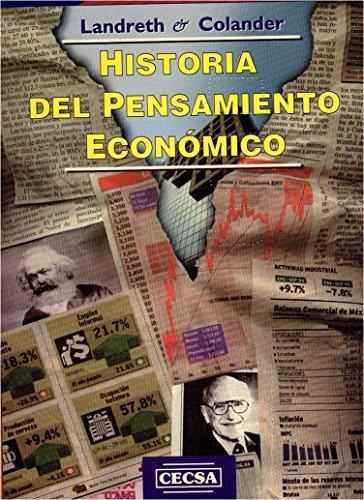 HISTORIA DEL PENSAMIENTO ECONOMICO: Harry Landreth; David
