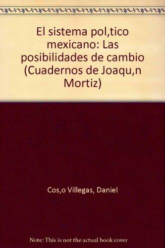 9789682700064: El Sistema Político Mexicano / Las Posibilidades De Cambio