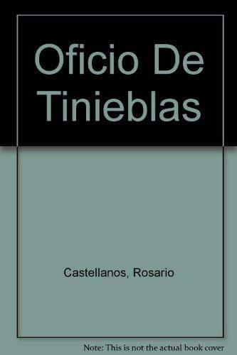 9789682709029: Oficio De Tinieblas (Spanish Edition)