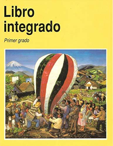 9789682953422: Libro integrado, primer grado